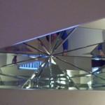 Зеркальные потолки в офисном помещении