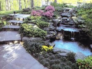 Водоемы: ручьи, пруды, каскады и фонтаны