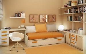 Дизайнерское размещение мебели после ремонта детской комнаты