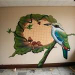 Оформление интерьеров и фасадов зданий: граффити