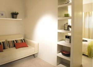 Разделение комнаты на функциональные зоны