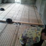 Процесс подготовки помещения для системы