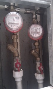 Установка счетчиков воды в Днепропетровске